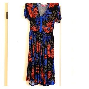 Plenty by Tracy Reese floral dress size small